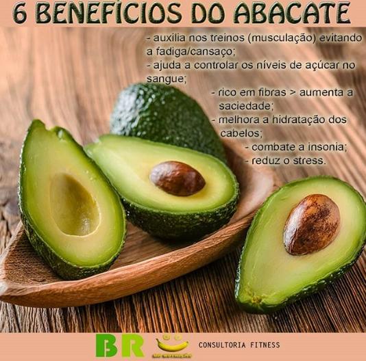 benefícios do abacate no estresse e alimentação