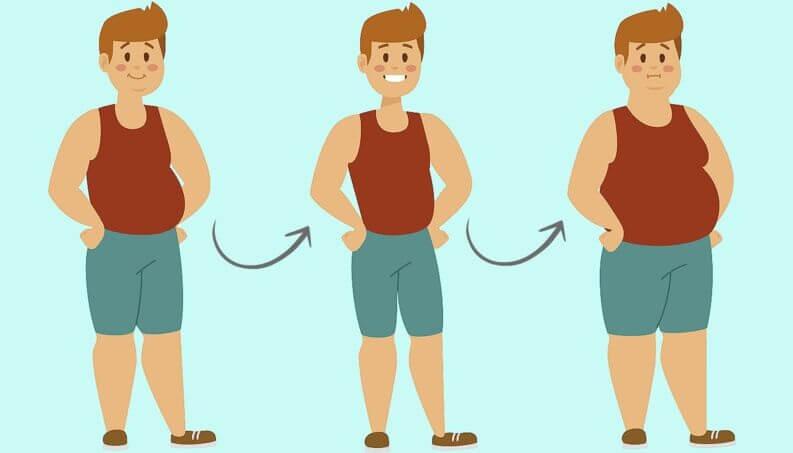 dieta x reeducação alimentar. dieta restrita contribui para o efeito sanfona.