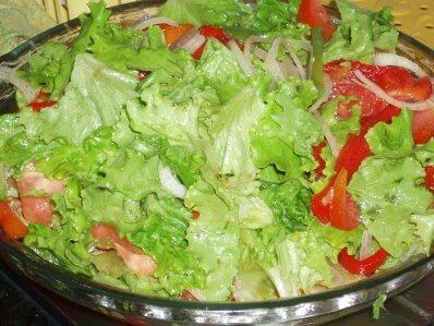como emagrecer com saude: #comavegetais e muita salada