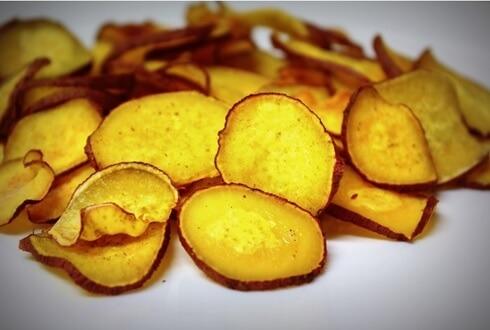 batata doce chips na airfryer ajuda a emagrecer 20 kg