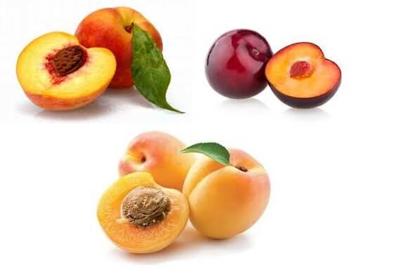 Frutas com Caroço emagrecem