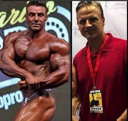 rafael brandao e seu coach chris aceto. aceto indica qual a quantidade de proteina por dia deve ser ingerida para atletas