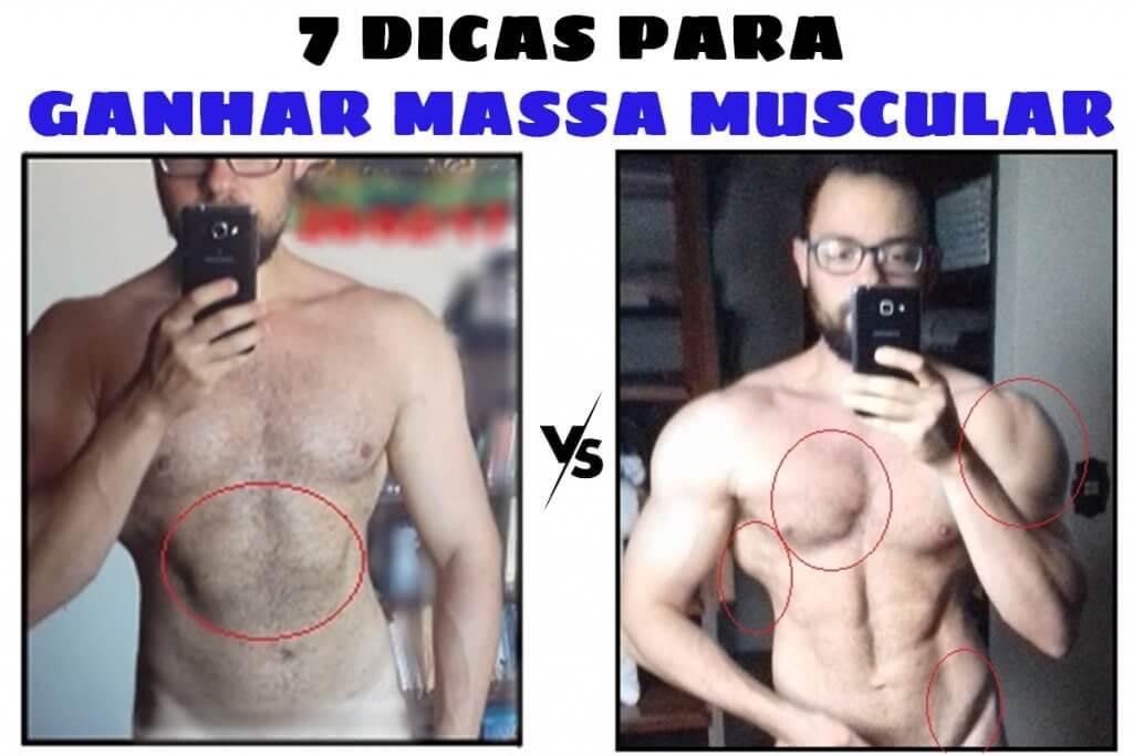 saiba como ganhar massa muscular