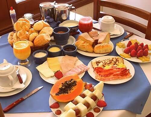 capriche no café da manhã se você deseja ganhar massa muscular