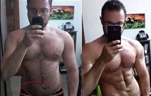 """Bruno Rodrigo """"BR"""" -10kg em 3 meses"""