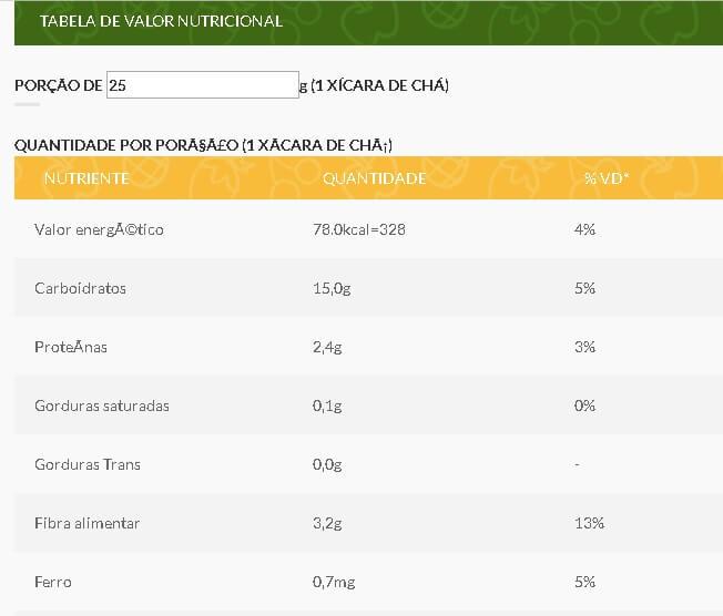calorias pipoca