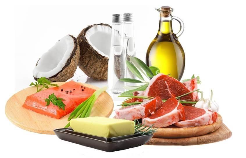 gorduras saturadas e poli