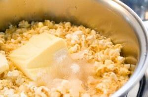 manteiga na pipoca faz mal?