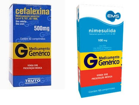 Remedio para abscesso: cefalexina e nimesulida