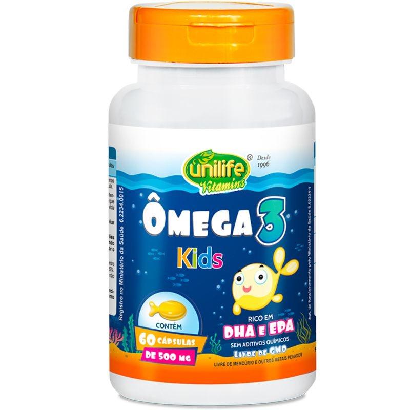 como tomar omega 3 infantil?