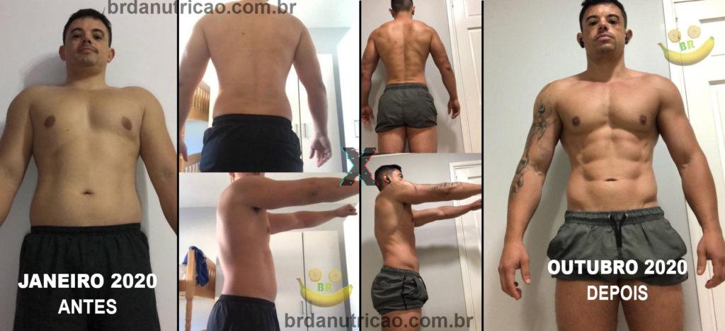 aluno consultoria esportiva online com nutricionista dieta de bulking