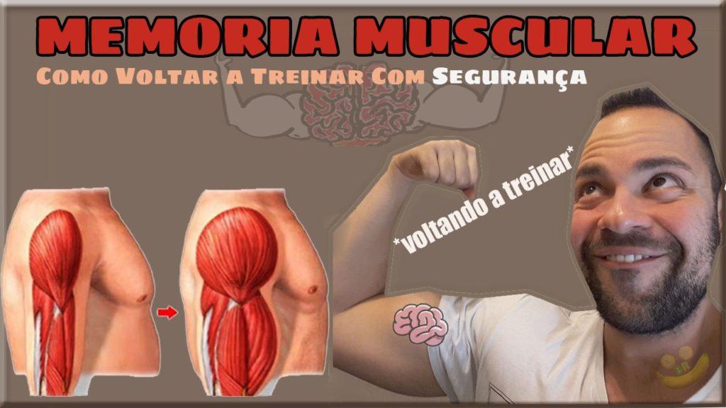 memoria muscular como voltar a treinar com segurança voltando a treinar